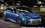 2016 Ford Focus 35 Background Wallpaper