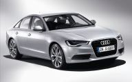 All New Audi 6 Car Background Wallpaper