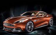 2014 Aston Martin Vanquish 45 Car Background Wallpaper