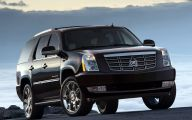 Cadillac Escalade 20 Car Background Wallpaper