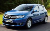 Dacia Sandero 13 Car Background Wallpaper