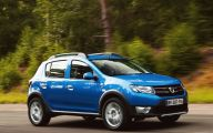 Dacia Sandero 8 Car Background Wallpaper