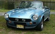 Fiat 124 Spider 25 Desktop Wallpaper