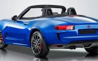 Fiat 124 Spider 5 Car Background Wallpaper