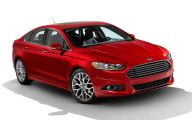 Ford Fusion 26 Background Wallpaper