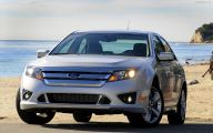 Ford Fusion 43 Car Background Wallpaper