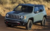 Jeep Renegade 31 Background Wallpaper