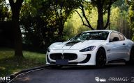 Maserati Granturismo 10 Car Desktop Background