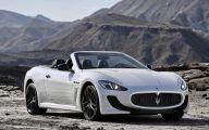 Maserati Granturismo 23 Car Background Wallpaper