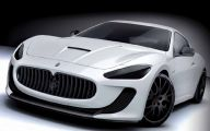 Maserati Granturismo 32 Car Desktop Background