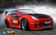 Nissan 370Z 35 Car Background Wallpaper