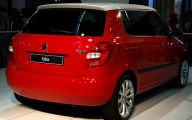 Skoda Cars India 7 Car Background Wallpaper
