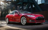 Tesla Dual Motor Model S  20 Car Desktop Background