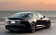 Tesla Model S 18 Widescreen Wallpaper