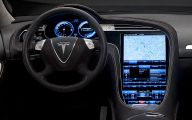 Tesla Model S 25 Widescreen Wallpaper