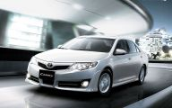 Toyota 2013 Camry 15 Car Background Wallpaper