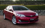 Toyota 2013 Camry 30 Car Background