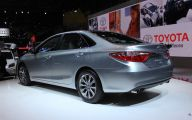 Toyota 2015 Camry 33 Car Background Wallpaper
