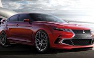 2015 Mitsubishi Car 22 Widescreen Wallpaper