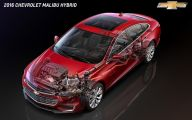 2016 Chevrolet Malibu 19 Widescreen Car Wallpaper