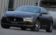Maserati Ghibli 9 Widescreen Wallpaper