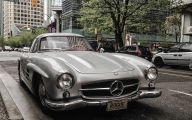 Mercedes-Benz 300Sl 31 Background Wallpaper