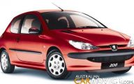 Peugeot 206 Model 18 High Resolution Wallpaper