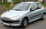 Peugeot 206 Model 5 High Resolution Wallpaper