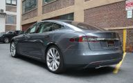 Pre Owned Tesla Model S 20 Widescreen Car Wallpaper