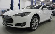 Pre Owned Tesla Model S 40 Wide Car Wallpaper