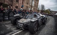 Batmobile 3 Background Wallpaper