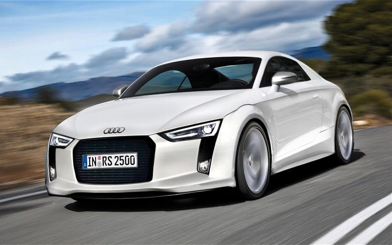 2015 Audi 3 Car Background