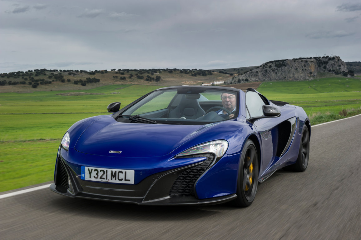 2015 Mclaren 650S Spider 19 Free Wallpaper