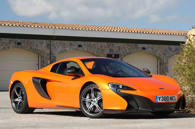 2015 Mclaren 650S Spider 4 Desktop Background