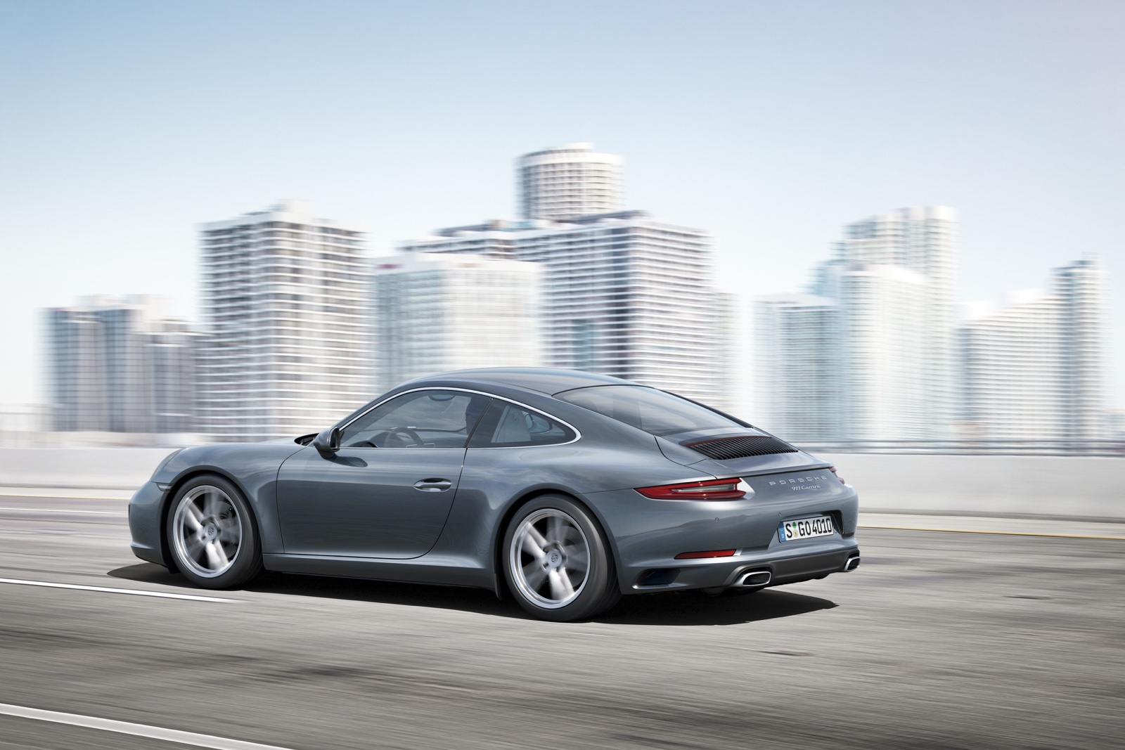 2016 Porsche 911 30 High Resolution Wallpaper