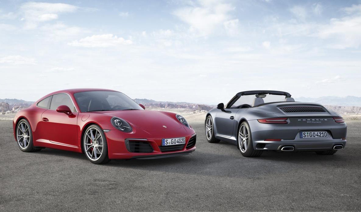 2016 Porsche 911 40 Desktop Wallpaper