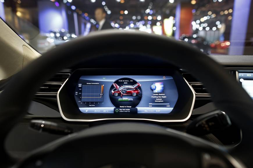 Autopilot Cars Tesla 3 Hd Wallpaper