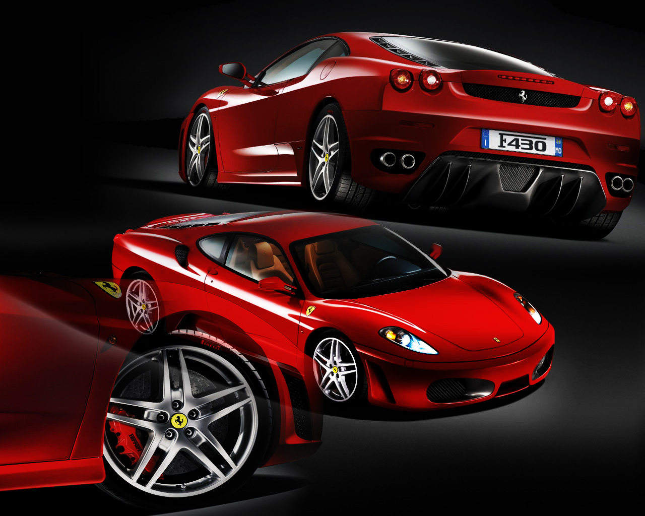 Ferrari Cars 5 Car Background Wallpaper