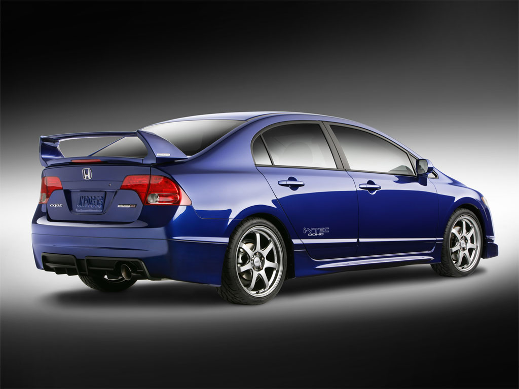 Honda Civic 4 Background Wallpaper