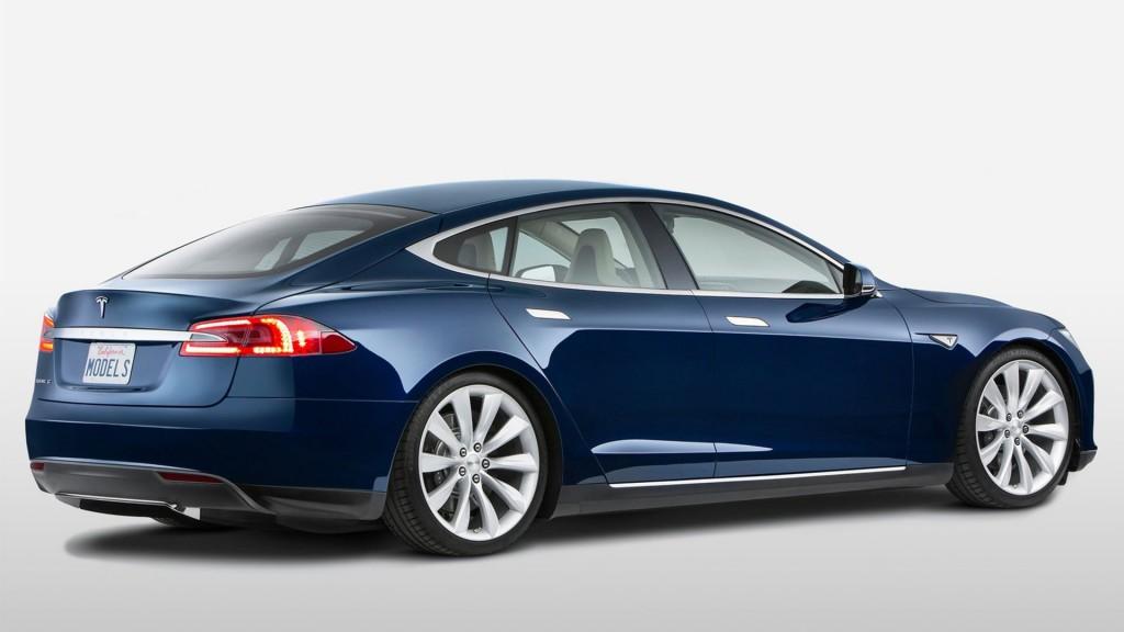 Model S 8 Widescreen Car Wallpaper