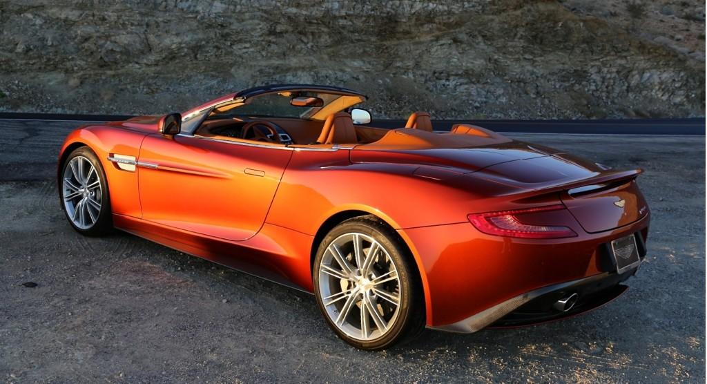 2014 Aston Martin Vanquish 29 Car Background Wallpaper