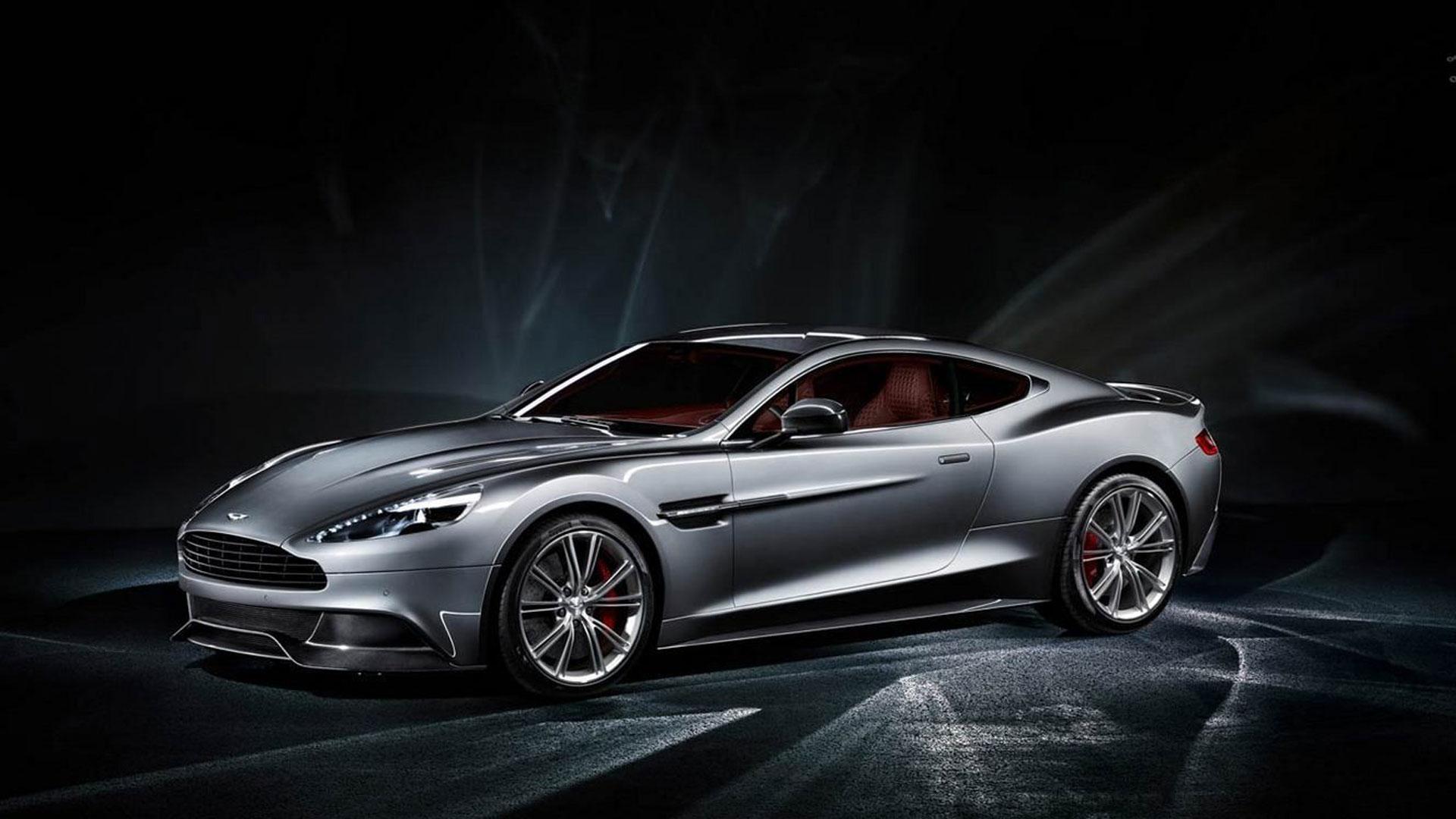 2014 Aston Martin Vanquish 34 Car Background