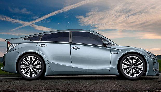 2015 Toyota Prius 4 High Resolution Car Wallpaper