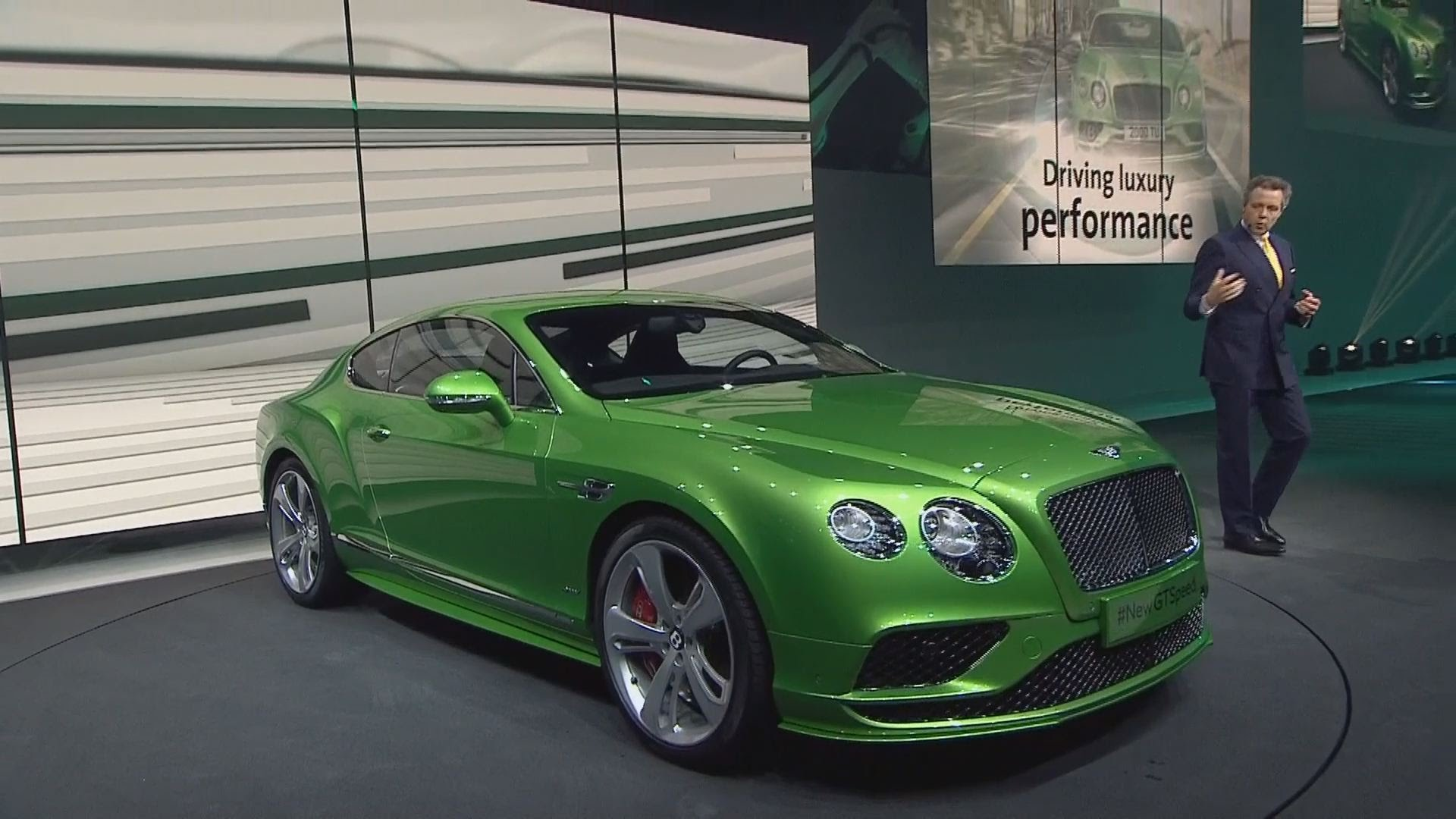 2016 Bentley Continental Gt 5 Widescreen Wallpaper