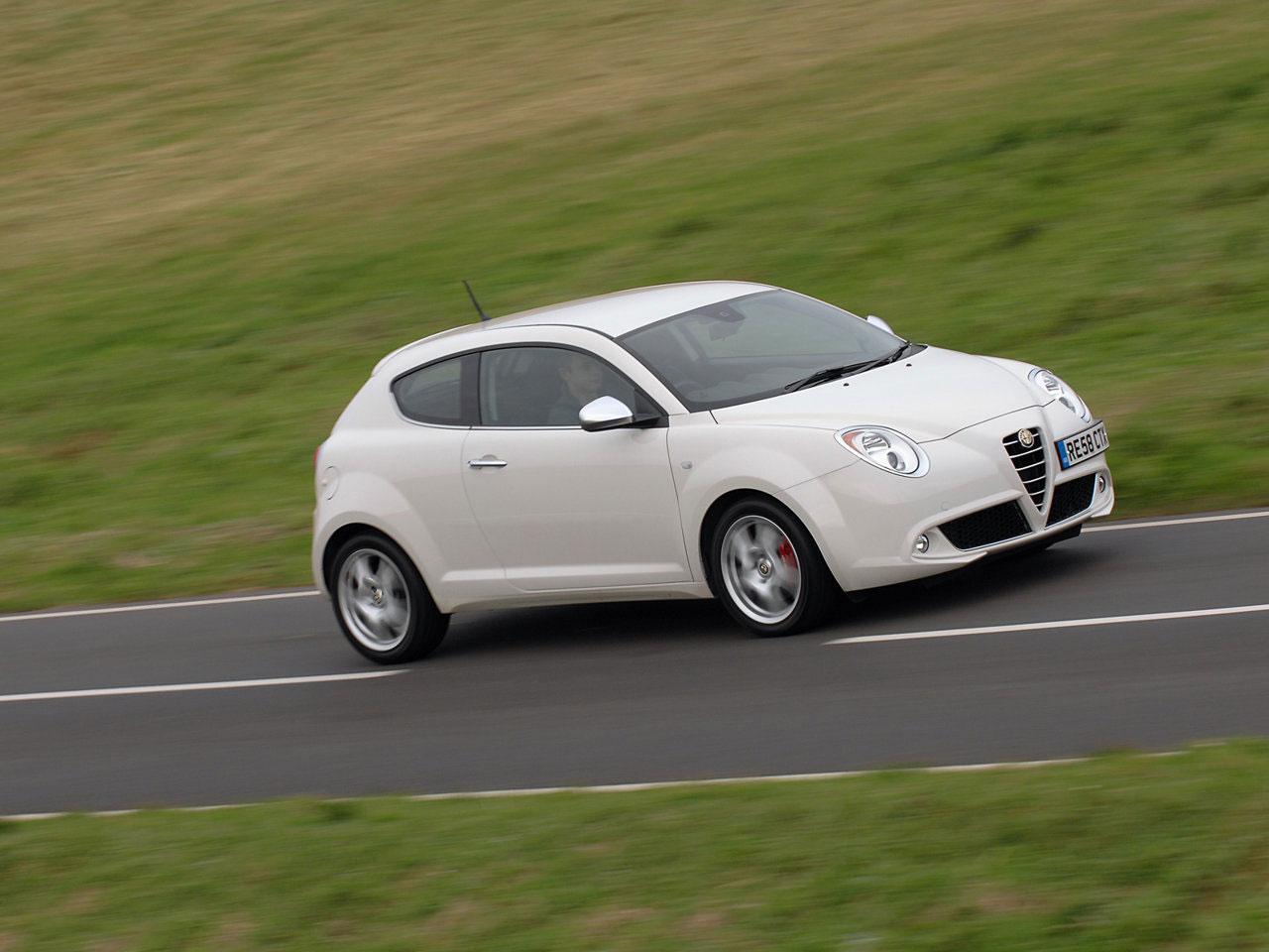 Alfa Romeo Mito 23 Widescreen Car Wallpaper