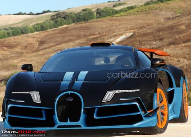 Bugatti Cheron 22 Wide Wallpaper