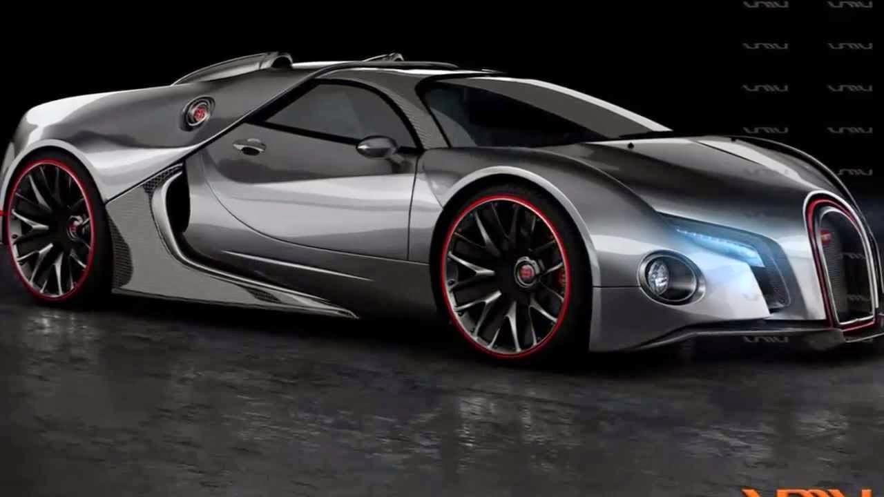 Bugatti Cheron 8 Car Desktop Background
