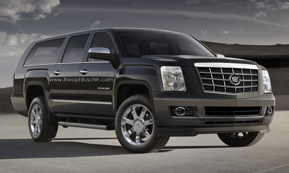 Cadillac Escalade 32 Widescreen Wallpaper