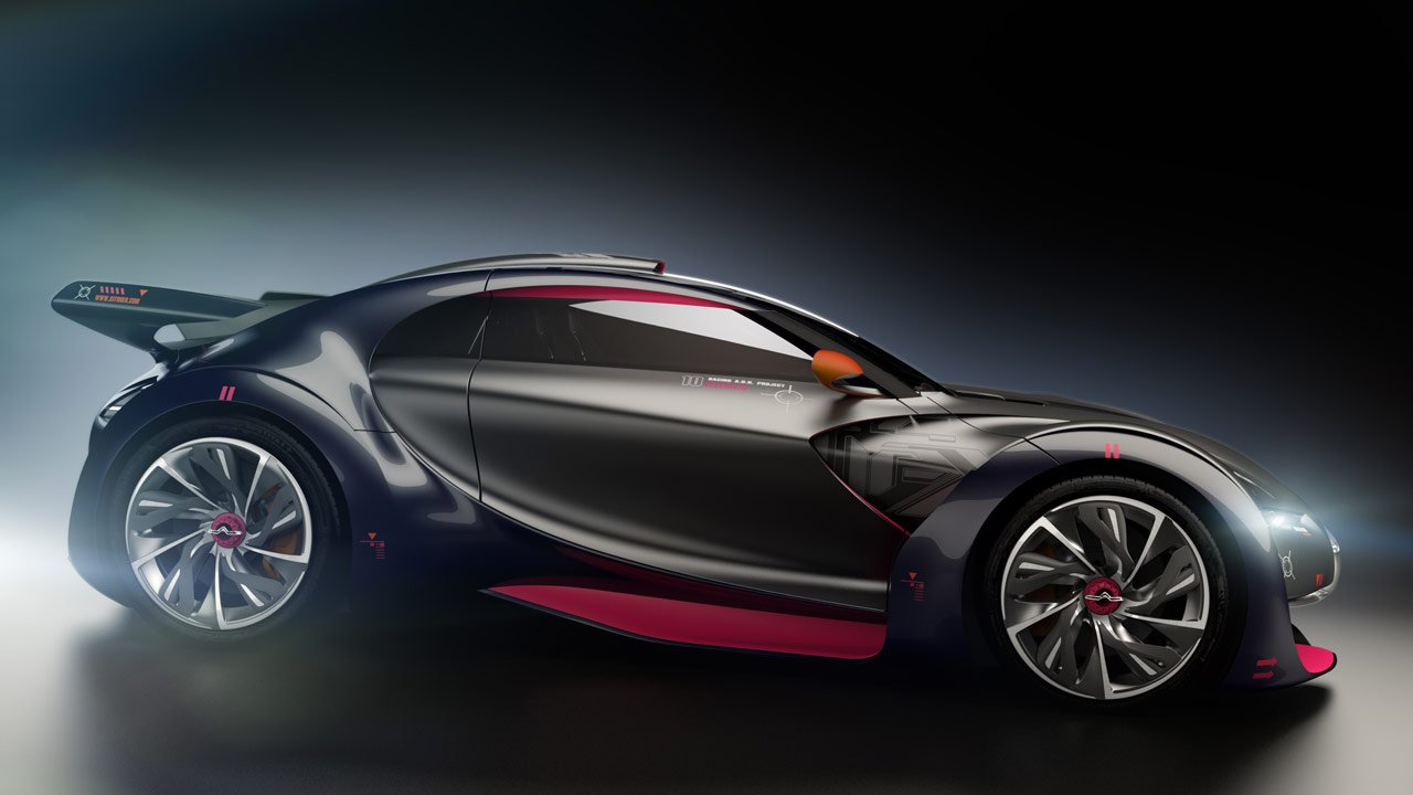 Citroen Survolt 12 Car Background