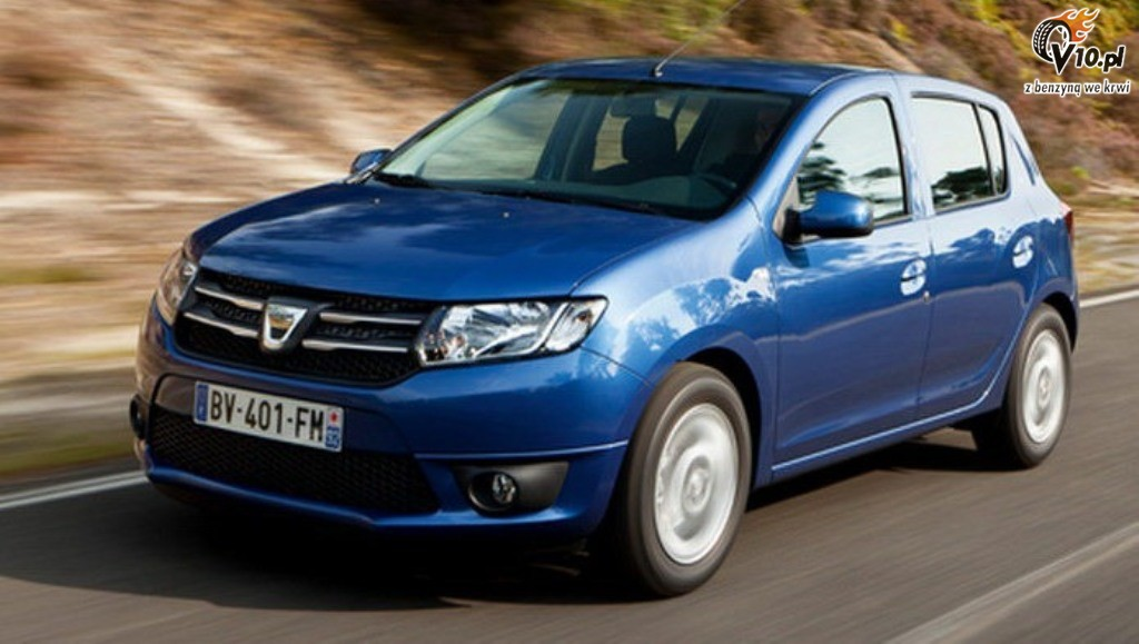 Dacia Sandero 1 High Resolution Car Wallpaper
